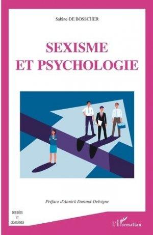 Sexisme et psychologie - l'harmattan - 9782343196718 -