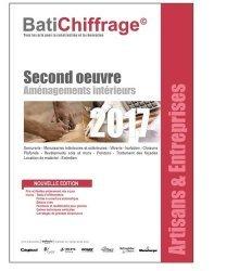 Second oeuvre Aménagements intérieurs 2017-batichiffrage-9782358060912