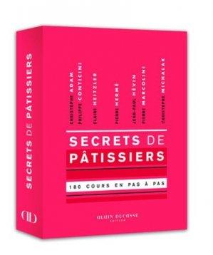 Secrets de patissiers - lec - 9782379450389 -