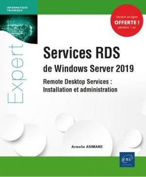 Services RDS de Windows Server 2019. Remote Desktop Services : Installation et administration - eni - 9782409024047 -