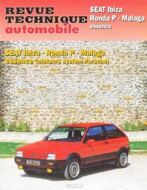SEAT Ibiza - Ronda P - Malaga - etai - editions techniques pour l'automobile et l'industrie - 9782726847336 -
