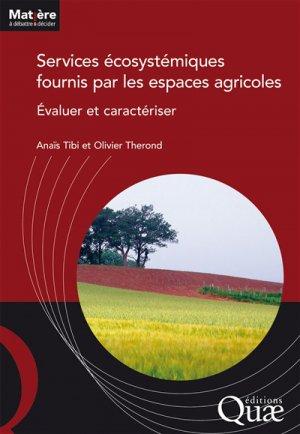 Services écosystémiques  fournis par les espaces agricoles - quae - 9782759229161