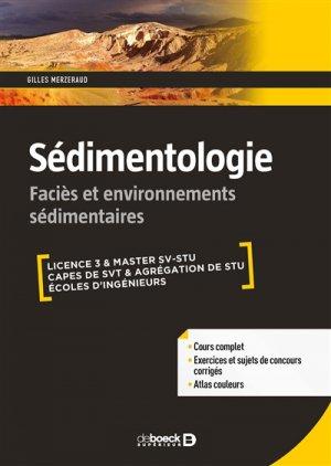 Sédimentologie - de boeck superieur - 9782807313279 -
