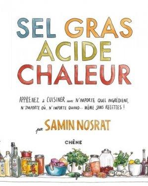 Sel Gras Acide Chaleur - du chene - 9782812303616 -