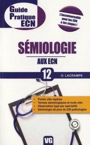Sémiologie aux ECN - vernazobres grego - 9782818303351 -