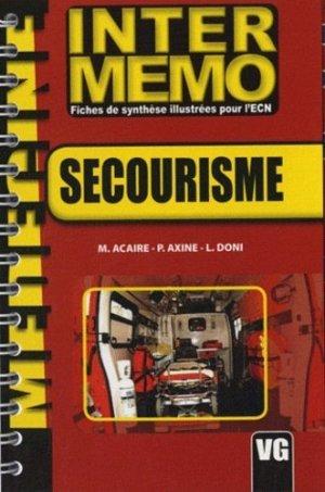 Secourisme - vernazobres grego - 9782841369836 -