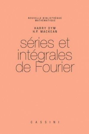 Séries et intégrales de Fourier - cassini - 9782842251475 -