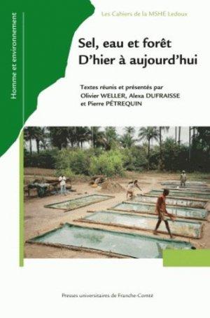 Sel, eau et forêt - presses universitaires de franche-comté - 9782848672304 -