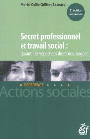 Secret professionnel et travail social - esf - 9782850863646 -