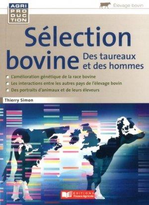 Sélection bovine - france agricole - 9782855576343 -