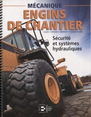 Sécurité et systèmes hydrauliques - reynald goulet - 9782893774183 -