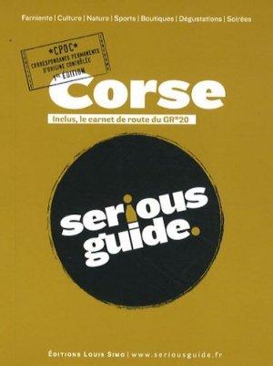 Serious guide Corse - Editions Louis Simo - 9782918030034 -