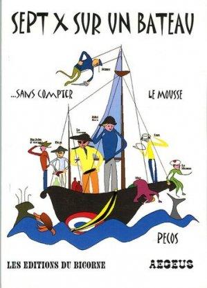 Sept X sur un bateau... Sans compter le mousse - Aegeus - 9782952249102 -