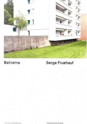 Serge Fruehauf, batirama. Edition bilingue français-allemand - Scheidegger and Spiess - 9783858815835 -