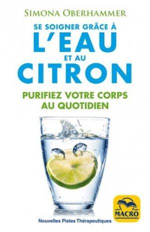 Se soigner grâce à l'eau et au citron - macro - 9788893194051 -