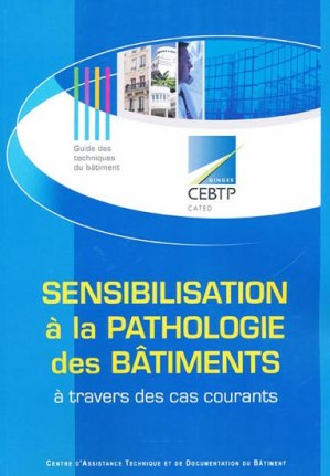 Sensibilisation à la pathologie des bâtiments à travers des cas courants - ginger cated - 9791090187184 -