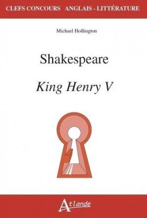 Shakespeare, King Henry V - atlande - 9782350306933 -