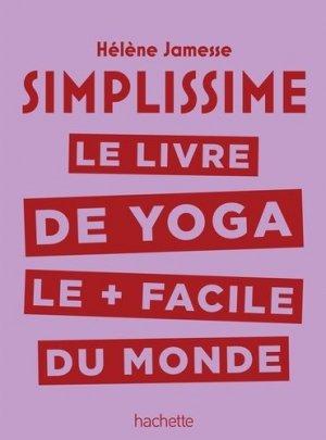 Simplissime - Yoga - hachette  - 9782016261927 -