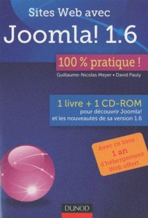 Sites web avec Joomla ! 1.6 - dunod - 9782100548743 -