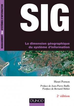 SIG - La dimension géographique du système d'information - dunod - 9782100721443 -