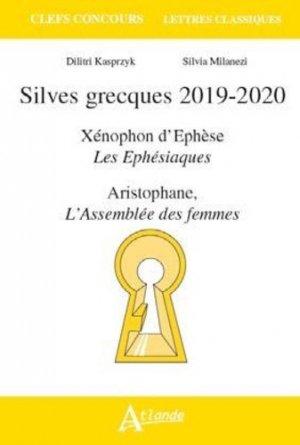 Silves Grecques 2019/2020 - atlande - 9782350305400 -