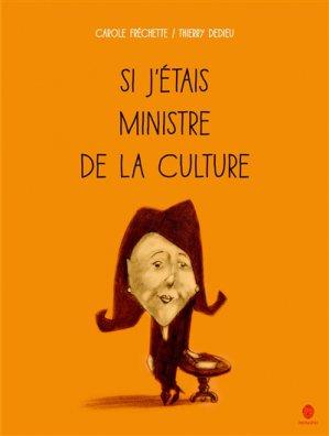 Si j'étais ministre de la culture (En Français) - hongfei - 9782355581243 -