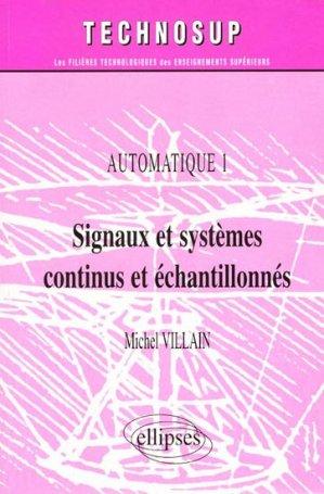 Signaux et systèmes continus et échantillonnés - ellipses - 9782729856519 -