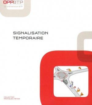Signalisation temporaire - OPPBTP Editions - 9782735404810 -