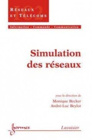 Simulation des réseaux - hermès / lavoisier - 9782746211667 -