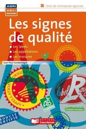 Signes de qualité - france agricole - 9782855573519 -