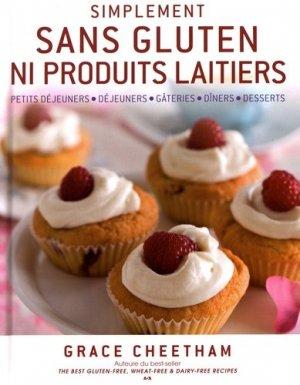 Simplement sans gluten ni produits laitiers - ada - 9782896677474 -