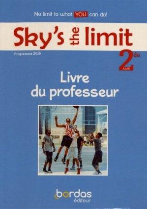 Sky's the limit! 2de A2/B1 - bordas - 9782047335871 -