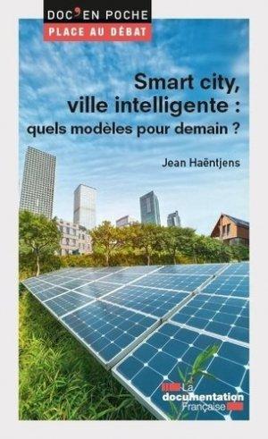 Smart cities ou villes intelligentes ? - La Documentation Française - 9782111572188 -