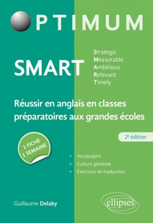 SMART Strategic, Measurable, Ambitious, Relevant, Timely - Ellipses - 9782340039674 -
