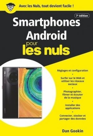 Smartphones Android poche pour les nuls - First - 9782412053225 -