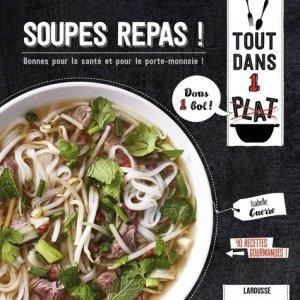 Soupes repas ! - Larousse - 9782035949424 -