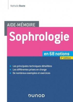 Sophrologie en 68 notions - dunod - 9782100788415 -
