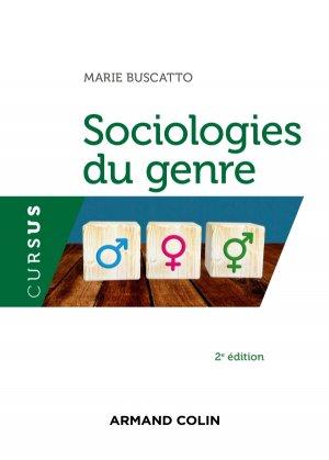 Sociologies du genre - armand colin - 9782200623838