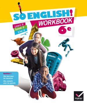 So English! 6e : Workbook - hatier - 9782218988639 -