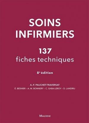 Soins infirmiers - maloine - 9782224032425 -