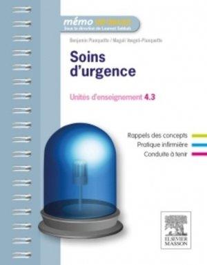 Soins d'urgence - elsevier / masson - 9782294735004