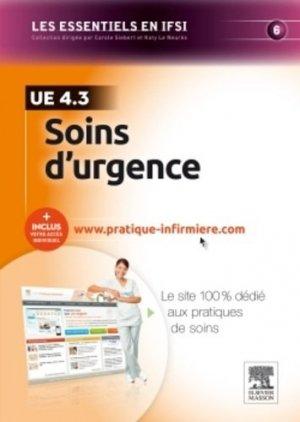 Soins d'urgence - elsevier / masson - 9782294741098
