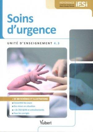 Soins d'urgence - vuibert - 9782311012811