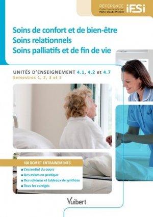 Soins de confort et de bien-être, soins relationnels, soins palliatifs et de fin de vie - vuibert - 9782311201673 -