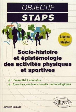 Socio-histoire et épistémologie des activités physiques et sportives - ellipses - 9782340020399