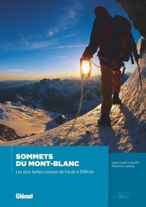 Sommets du Mont-Blanc - glenat - 9782344015421
