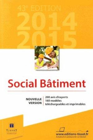 Social Bâtiment - Édition 2014- 2015 - tissot - 9782361261245 -