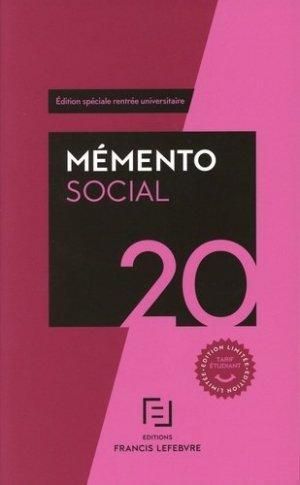 Social étudiants - Francis Lefebvre - 9782368935231 -