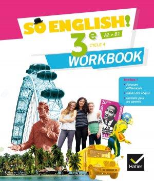 So English! 3e (2017) : Workbook - hatier - 9782401026797 -