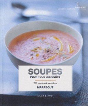 Soupes pour tous les goûts - Marabout - 9782501062268 -